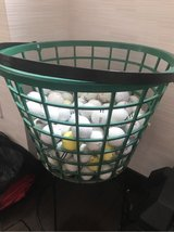 Bucket and misc golf balls in Okinawa, Japan