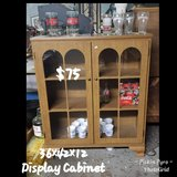 Display cabinet in Fort Riley, Kansas