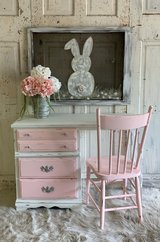 Desk and Chair- Baby blush in Kingwood, Texas