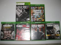 Xbox One Video Game Collection in Plainfield, Illinois