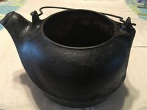 Cast iron stove kettle in Fort Campbell, Kentucky