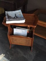 french vintage sidetable newspaper stand in Ramstein, Germany