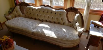 French provincial couch and two tables in Chicago, Illinois