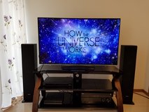 """Full Entertainment Center 55"""" 4K LED TV, Sony Receiver & Tower Speakers, Blu-Ray, More in Okinawa, Japan"""