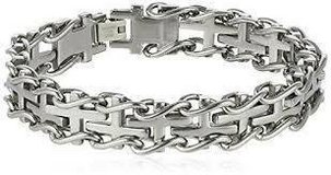 CLEARANCE ***BRAND NEW***Men's S/S Railroad Bracelet*** in Cleveland, Texas