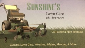 Lawn Care Services in Conroe, Texas