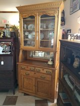 Antique Oak Breakfront Cabinet in Fort Leonard Wood, Missouri