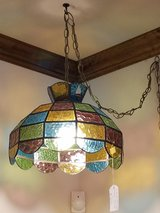 Stained Glass Swag Lamp in Fort Leonard Wood, Missouri
