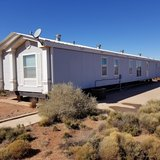 Manufactured house in Alamogordo, New Mexico