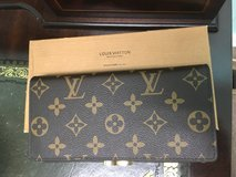 Monogrammed wallet with box in Beaufort, South Carolina