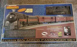 Rail King Powhaten Arrow Passeger train set in Joliet, Illinois