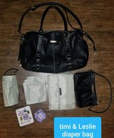 Timi & Leslie 7 piece diaper bag in Kingwood, Texas
