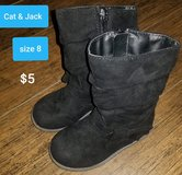 Toddler girl boots ~ size 8 in Houston, Texas