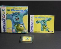 Monster inc gameboy in Ramstein, Germany
