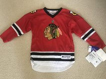 Patrick Kane Official Blackhawks Jersey (Size 5-6 in Kids) in Naperville, Illinois