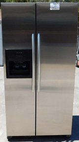 25 CU. KITCHEN AID SIDE-BY-SIDE REFRIGERATOR in Camp Pendleton, California