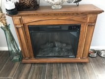 Electric fire place in 29 Palms, California