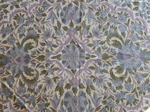 Pretty Virgin Wool Pile Rug-9 x 12 in Naperville, Illinois