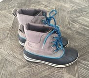 Sorel boots (youth/boys size 4) in Naperville, Illinois