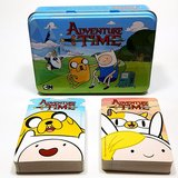 Adventure Time Cartoon 2 Poker Decks Playing Card Gift Set in a Gift Tin Box in Naperville, Illinois
