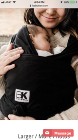 Baby ktan sling/carrier in Naperville, Illinois