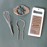 Retro HAND KITCHEN TOOLS: Whisk, Apple Corer, Grater, Jar Opener in Naperville, Illinois