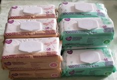 6 Shea butter and 5 fragrance free baby wipes in Fort Bragg, North Carolina