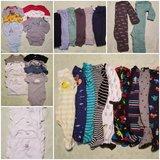 38 piece newborn baby clothes in Fort Leonard Wood, Missouri