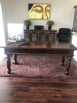 Beautiful Antique Solid Wood Desk in Houston, Texas