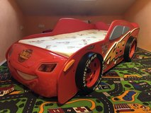 Cars Mcqueen MDF Bed Including Mattress in Ramstein, Germany