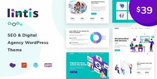 Lintis- SEO and Digital Agency WordPress Theme in Chicago, Illinois