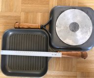 x2 Berndes grill pan made in West Germany authentic rare antic vintage in Wiesbaden, GE