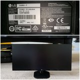 Like New LG  monitor with split screen capability in Columbus, Georgia