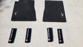 2017 Mustang Embroidered Floormats & Shoulder Harness Pads in Conroe, Texas