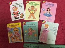 6 Paper Doll Sets - small in Kingwood, Texas