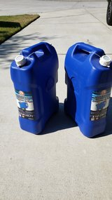 NEW 6 Gallon Water Containers (Seals Never Broken) in The Woodlands, Texas