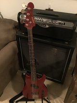 Magnum Bass Electric Guitar with Professional Line 6 Spider II HD150 150W Guitar Amp Head Plus L... in Ramstein, Germany