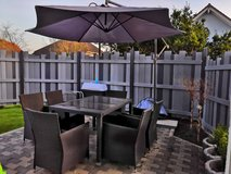 patio set, chairs table and umbrella in Ramstein, Germany