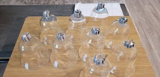 9, glass sconces in Conroe, Texas