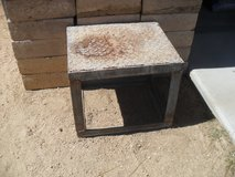 ^^  Metal Stool  ^^ in Yucca Valley, California