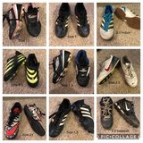 Kids Soccer and Baseball Cleats sizes 8.5, 13, 1, 1.5, 2, 2.5 in Aurora, Illinois
