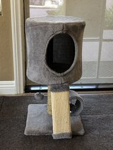 Cat Condo Perch, Cat Tree with Scratch Post for Small Cats and Kittens in Camp Pendleton, California