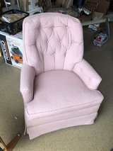 Pink Swivel Chair in Naperville, Illinois