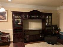 "Solid  wood 65"" Wall Unit with storage in Quantico, Virginia"