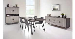 United Furniture - Luice I Dining Set including delivery - see VERY IMPORTANT below in Shape, Belgium