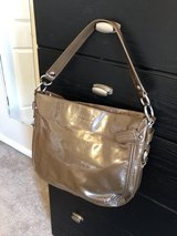 Brown Patent Leather Coach in Clarksville, Tennessee