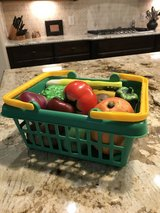 14 Piece GROCERY BASKET & PRODUCE in The Woodlands, Texas
