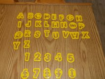 36 piece Alphabet & Number Cookie Cutters in Naperville, Illinois