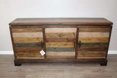 Distressed Solid Wood Credenza in Houston, Texas