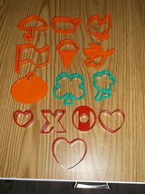 14 piece cookie cutters for various holidays in Joliet, Illinois